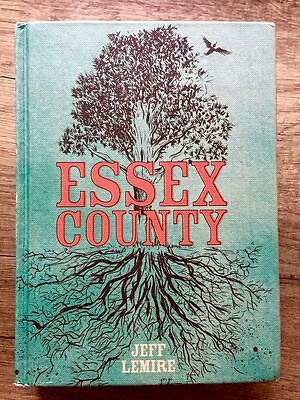 Top Shelf ESSEX COUNTY The complete HARDCOVER Jeff Lemire US HC 2009 OOP Rare!