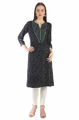 Indian Bollywood Kurta Kurtis Designer Women Ethnic Dress Top Tunic Pakistani