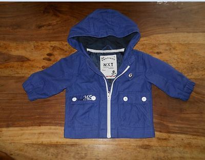 NEXT  BABY BOYS Lightweight JACKET COAT AGE 3 - 6 MONTHS,mint used condition