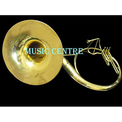 """Sousaphone Bell 22"""" Of Pure Brass In Brass Polish+Case+ Mouthpc + Free Shipping"""