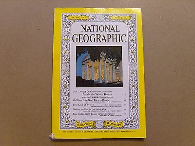National Geographic Magazine - January 1961 - See Images For Contents