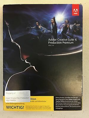 Adobe Creative Suite 6 Production Premium Mac OS