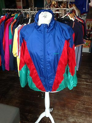 Vintage Adidas Shell Suit Tracksuit Top Retro