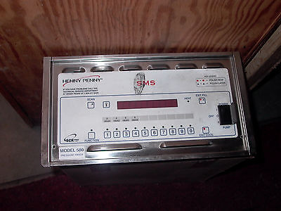 Used Take Off Henny Penny Sms Model 580 Pressure Fryer Control Panel