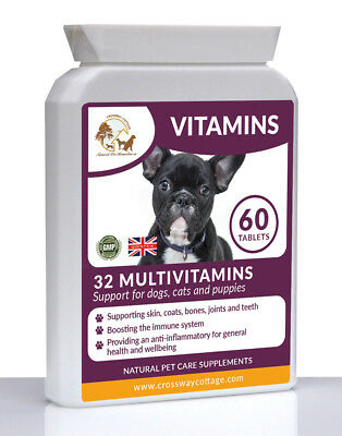 MultiVitamins & Minerals (32 Natural Ingredients!) for Dogs   60 Chewy Tablets