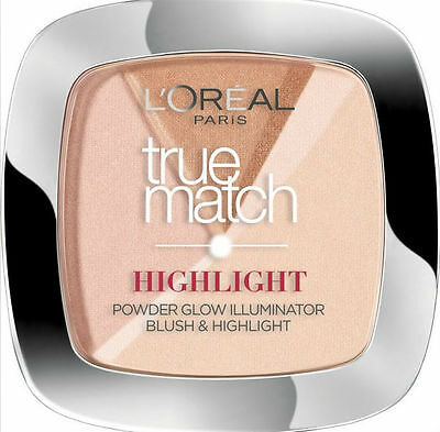L'Oreal Perfect Match Blush Highlighter Powder Illuminator 202 Rosy Glow Blusher