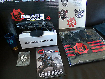 Gears Of War 4 Coffret Goodies Collector - Huge Crate Box - NEUF