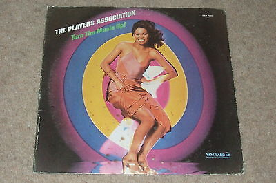 The Players Association – Turn The Music Up! LP        1979  CLASSIC DISCO!!
