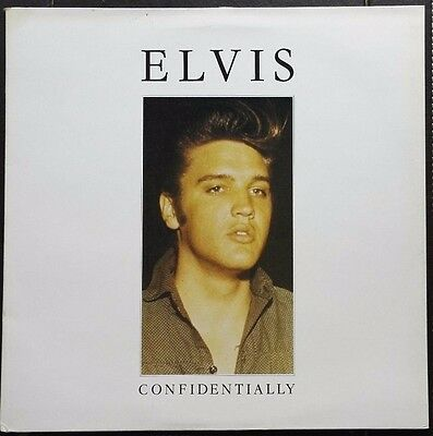 "Elvis Confidentially 12"" Vinyl Album 1987 Rare Interveiws Arena Label ARAD 1008"