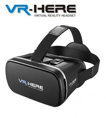 Vr Box 3D Video Realta' Virtuale Visore Occhiali Per Smartphone Android Apple