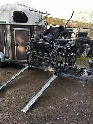 DOUBLE HORSE CHEVAl TRAILER/CARRIAGE EXTENSION