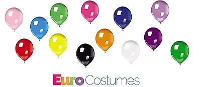 Pack of 25 Latex Balloons 14 Colours Childs Birthday Party Weddding Christmas