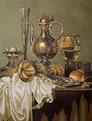 "Gobelin Tapestry Needlepoint Kit ""Still life"" printed canvas 106"