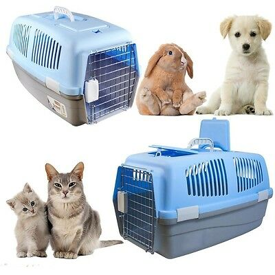 Kingfisher Pet Carrier For Cat Kitten Puppy Dog Rabbit Travel Box Carrying Cage