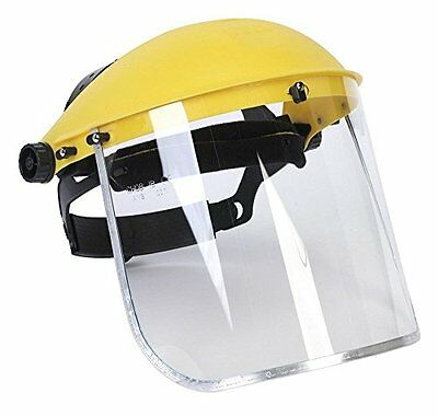 Safety Clear Full Face Shield Visor Mask Head Coverage Ideal For Automotive Home