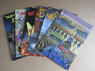 Not Quite Dead comics - No 1-6 - by Shelton & Pic - Rip Off Press