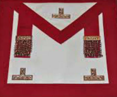 Masonic Craft Provincial Stewards Apron with Past Master