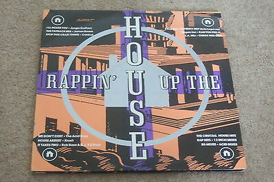 Rappin' Up The House 2xLP        1988   OLD SKOOL / ACID HOUSE!!  NEAR MINT!!