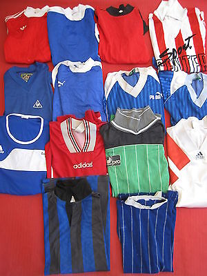 Lot 14 Maillot vintage Football France Adidas + puma gardien soccer foot jersey