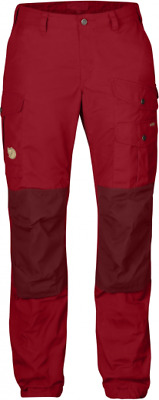 Fjallraven Womens Vidda Pro Troursers Regular Red or Tarmac