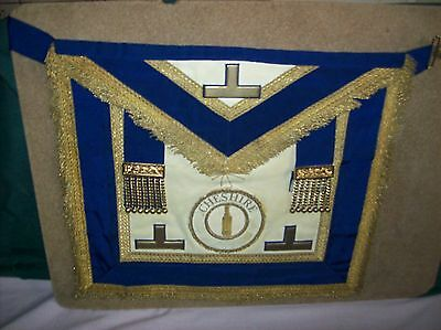 Cheshire Provincial Officers Dress and Undress Aprons & Collars