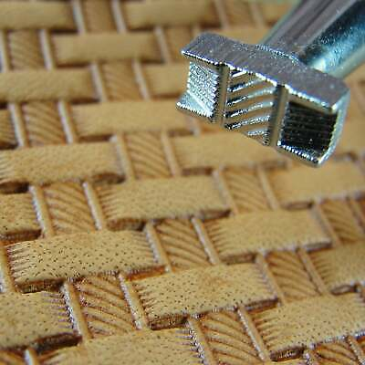 Craft Japan - #X500-2 Rope Basket Weave Stamp (Leather Stamping Tool)