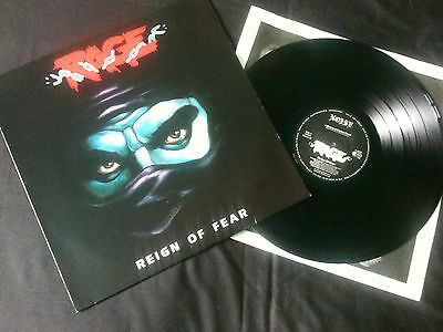 Rage - Reign Of Fear  LP Germany  1986 EX-/EX   # Speed metal