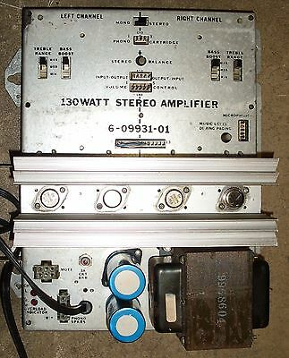 Rowe 130 watt amplifier, 6-09931-01 / 60993101  Refurbished / tested R90