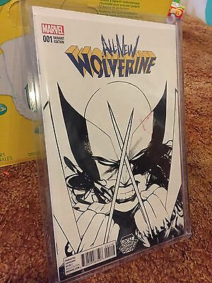 Marvel All New Wolverine #1 LCSD Variant NM Only 500 Made! Logan X-23
