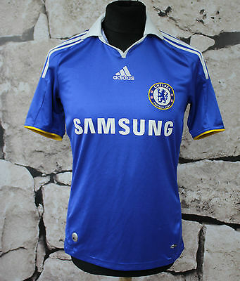 ADIDAS CHELSEA LONDYN 2008/2009 HOME Football Shirt Jersey SIZE S  (328)