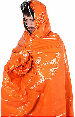 Thermal Light and Dry Survival Bag Orange - Lifesystem