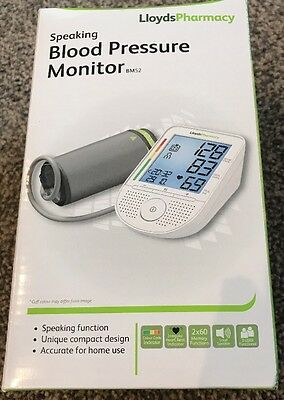 Lloydspharmacy Speaking Blood Pressure Monitor