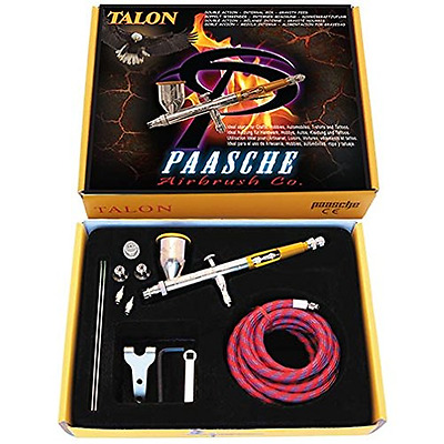 Paasche Airbrush Double Gravity Feed Airbrush, Multi-Colour