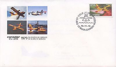 Commemorative Stamp And Envelope Marking 10Th Year Of Operating The Cl-125 Water