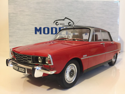 Rover 3500 V8 1974 Red Model Car Group 18044 New 1:18 Scale