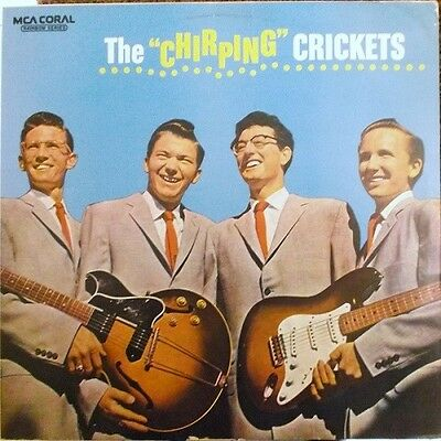 BUDDY HOLLY & THE CRICKETS   Vinyl LP   The Chirping Crickets, EX+