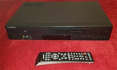SAMSUNG CD DVD-V6800 DVD VHS PLAYER Recorder VCR COMBO with remote