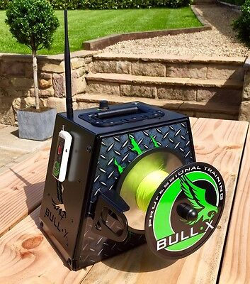 BULL•X Lure Machine, Remote + Speed Control Battery & Charger Included.