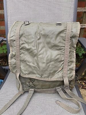 French Army Surplus 35 Litre Daysack Rucksack Canvas and Nylon