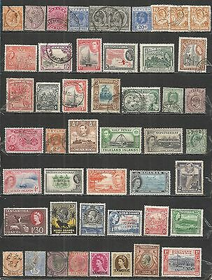 Great Britain colony  nice small collection  mint/used stamps