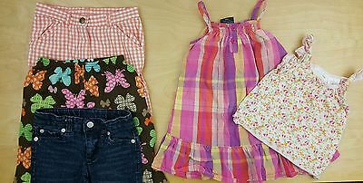 Lot of 5 Girls Clothes Top Pants Jeans Size 2T GYMBOREE WONDER KIDS & MORE FWUW