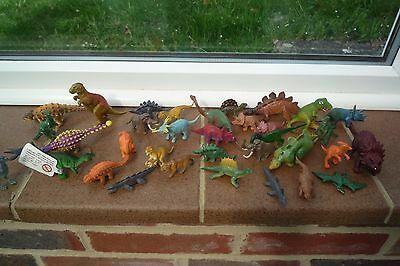 Dinosaurs small plastic figures Lovely Bundle