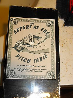 The Expert At The Pitch Table Original Vhs Tape