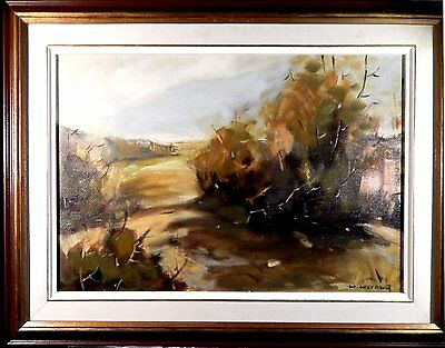 Hans Herold -- Vintage original Canadian oil painting by a Listed Artist