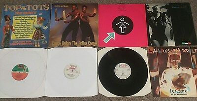 "Amnesia, Ibiza, Doug Lazy, Acid, Old Skool, 8 x, DJ, 12"", Vinyl, Job Lot, Bundle"
