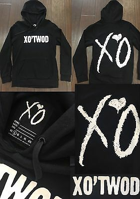S - Rare! 2015 The Weeknd Official Issue Xo Sweat shirt Hoodie XOTWOD Starboy