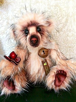 Ooak Large Pink / Peach Artist Bear Approx 24in