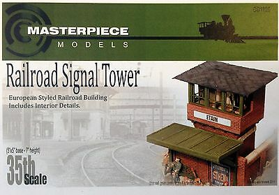 1/35 Resin Kit By Masterpiece Models Railroad Signal Tower. New.