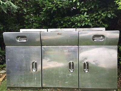 English Rose Retro Vintage Kitchen Unit - Restored and in Great Condition