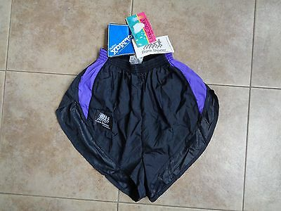 Frank Shorter BNWT Vintage Nylon Sprinter Cool Max Fabric Shorts Size M